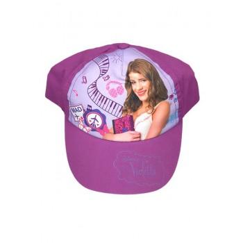 Cappello berretto bimba Disney Violetta viola