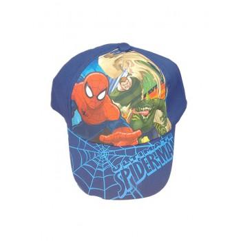 Cappello berretto bimbo uomo ragno Spiderman blu