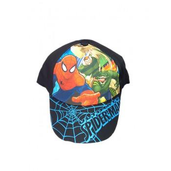 Cappello berretto bimbo uomo ragno Spiderman nero