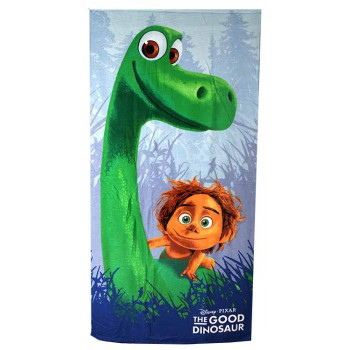 Telo asciugamano mare bimbo bambino spugna The Good Dinosaur