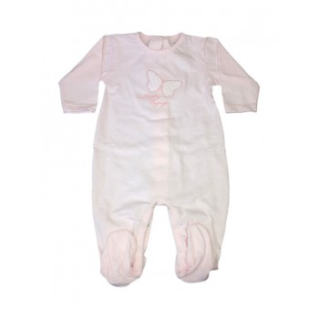 Tuta tutina cotone bimba neonato Rapife rosa