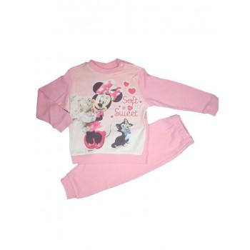 Pigiama maglia maglietta pantalone bimba neonato Disney baby Minnie