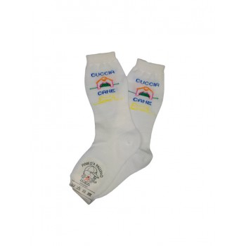 Calza lunga calzino lana bimba neonato Pinko e Pallino