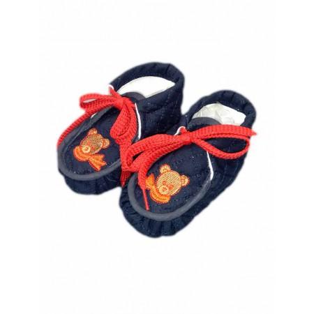 Scarpina scarpa  bimbo neonato Madilux blu