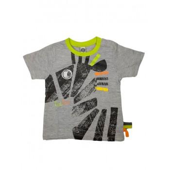 T-shirt maglia maglietta bimbo neonato bambino Tuc Tuc grigio