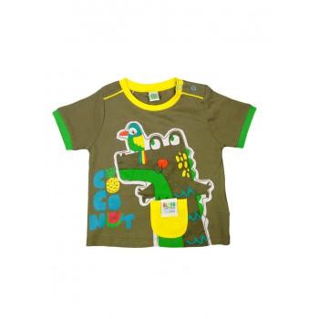 T-shirt maglia maglietta bimbo neonato bambino Tuc Tuc verdino