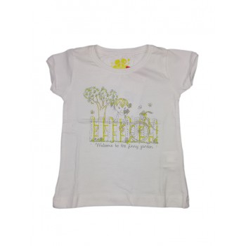 T-shirt maglia maglietta bimba bambina Losan bianco