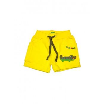 Pantaloncino shorts bimbo neonato bambino Tuc Tuc giallo