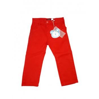Pantalone jeans bimbo neonato bambino Losan rosso