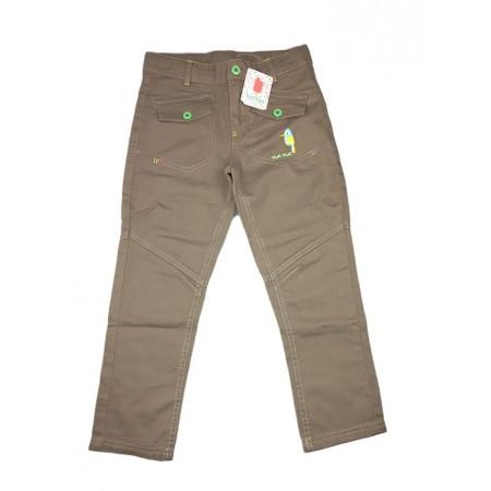 Pantalone jeans bimbo neonato bambino Tuc Tuc verde