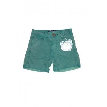 Pantaloncino shorts bimbo neonato bambino Losan verde