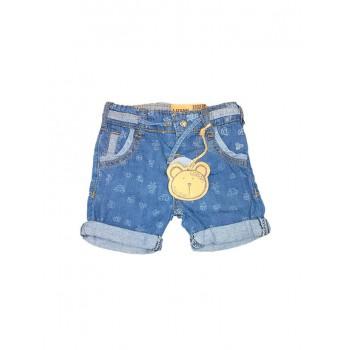 Pantaloncino shorts jeans bimbo neonato bambino robottini Losan