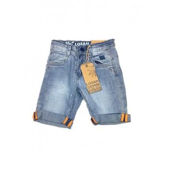 Pantalone bermuda jeans bimbo bambino Losan