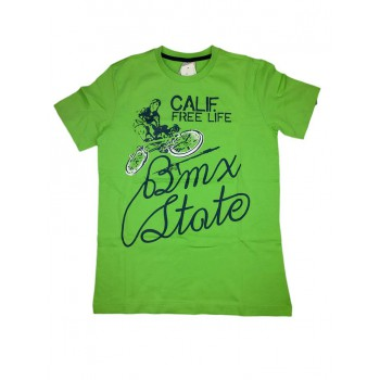 T-shirt maglia maglietta bimbo  bambino Trybeyond verde