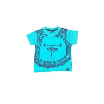 T-shirt maglia maglietta bimbo neonato Losan verde acqua