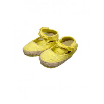 Scarpina scarpa ballerina bimba neonato Losan giallo