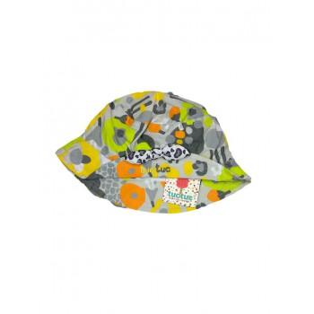 Cappellino cappello bimba Tuc Tuc fantasia grigio
