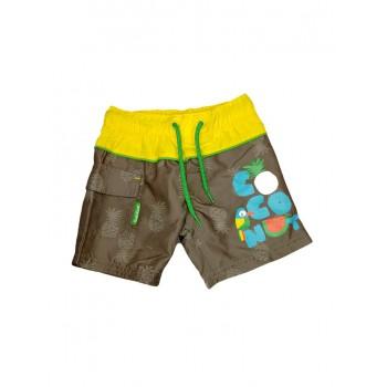 Costumino costume da bagno boxer bimbo bambino Tuc Tuc verde grigio