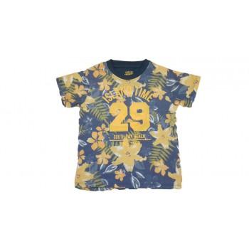 T-shirt maglia maglietta bimbo bambino Losangrigio giallo