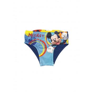 Costumino costume da bagno slip bimbo bambino Disney Mickey blu