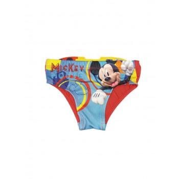 Costumino costume da bagno slip bimbo bambino Disney Mickey rosso