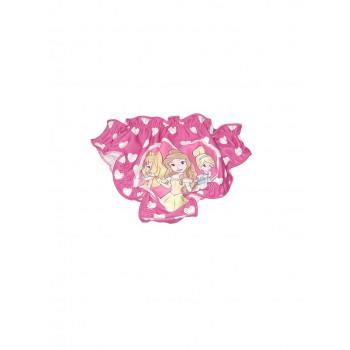 Costumino costume da bagno slip bimba neonato Disney Principesse fucsia