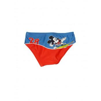 Costumino costume da bagno slip bimbo neonato Disney Mickey rosso blu