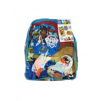 Set mare zaino telo cappello costumino boxer costume da bagno bimbo bambino Paw Patrol