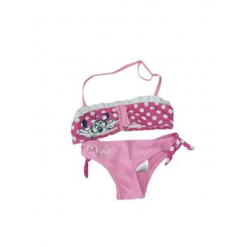 Costumino costume da bagno 2 pezzi bimba bambina Disney Minnie rosa