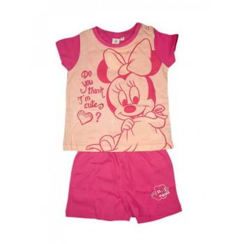 Pigiama 2 pz bimba neonata Disney baby Minnie fucsia