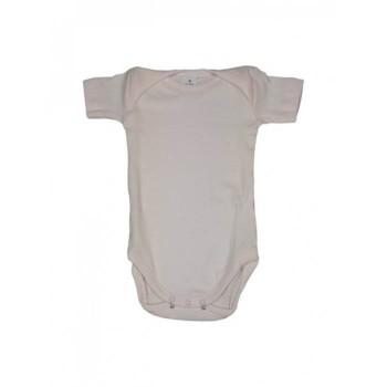 Body bodino intimo neonato bimba mezza manica Rapife bianco rosa