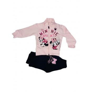 Completo tuta 2pz maglia maglietta pantalone bimba neonato Arnetta Disney baby Minnie