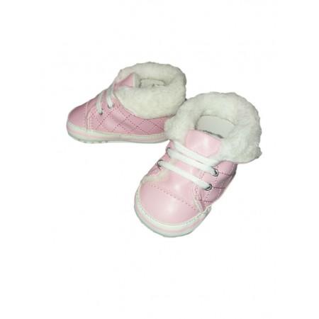 Scarpina scarpa stivaletto Pastello bimba neonata rosa