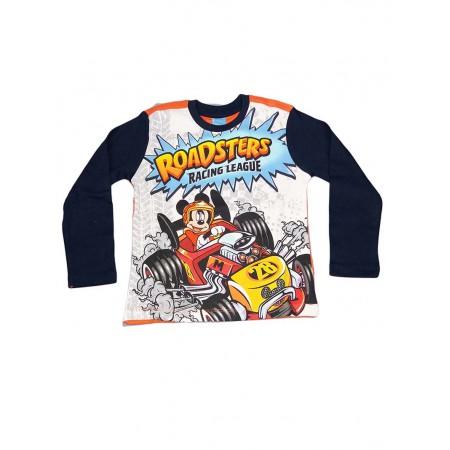 T-shirt maglia maglietta bimbo bambino Arnetta Disney Mickey blu