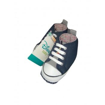 Scarpina scarpa bimbo neonato Disney Mickey blu