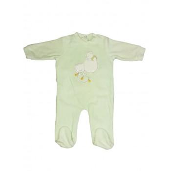 Tuta tutina ciniglia bimbo neonato Ellepi verdino