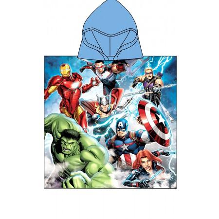Poncho accappatoio telo mare bimbo spugna Arnetta Avengers