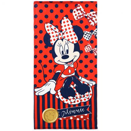 Telo asciugamano mare bimba bambina microfibra Disney Minnie