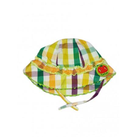 Cappellino cappello bimba Tuc Tuc fantasia quadri