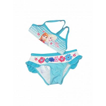 4d8d5ef67d51 Costumino costume da bagno 2 pezzi bikini bimba bambina Arnetta Disney  Frozen turchese