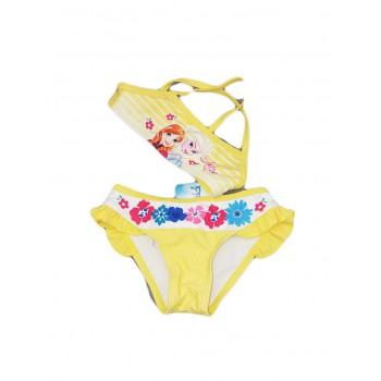 Costumino costume da bagno 2 pezzi bikini bimba bambina Arnetta Disney Frozen giallo