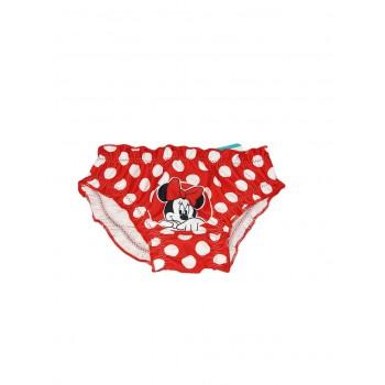 Costumino costume da bagno slip bimba neonato Arnetta Disney baby Minnie rosso