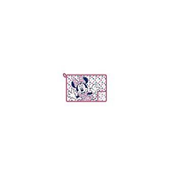 tovaglietta plastificata bimba bambina Disney Minnie rosa fucsia