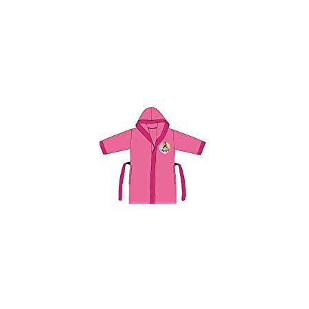 Accappatoio bambina micro spugna neonato Disney Principesse rosa