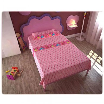 Completo lenzuola parure letto 3pz bambina piazza singola Disney Principesse