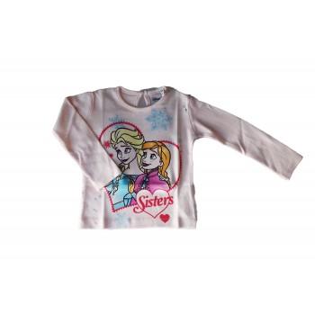 T-shirt maglia maglietta cotone bimba neonato Arnetta Disney baby Frozen rosa