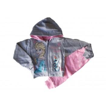 Completo tuta 2pz felpa cotone pantalone bimba neonato Arnetta Disney baby Frozen