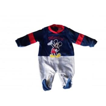 Tuta tutina ciniglia bimbo neonato Disney baby Mickey