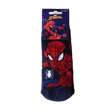 Confezione 2pz calza gommata calzino antiscivolo bimbo bambino uomo ragno spiderman e disney mickey