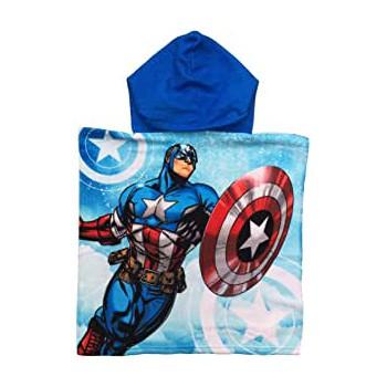 Poncho accappatoio telo mare bimbo Avengers